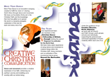 View the Creative Christian Communication leaflet